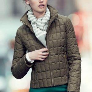J CREW Snowcap Quilted Puffer Jacket